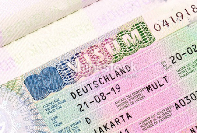 національна віза німеччина