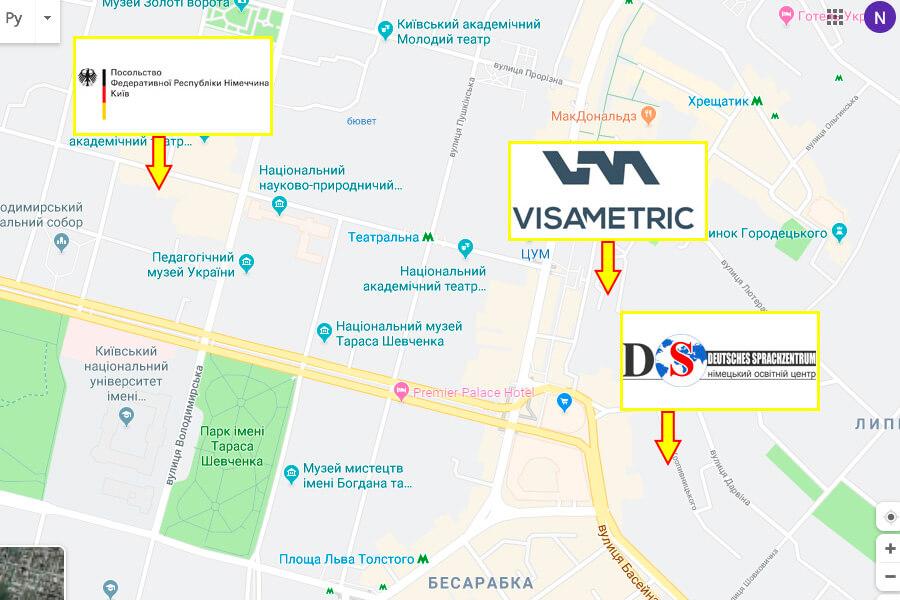 visametric киев