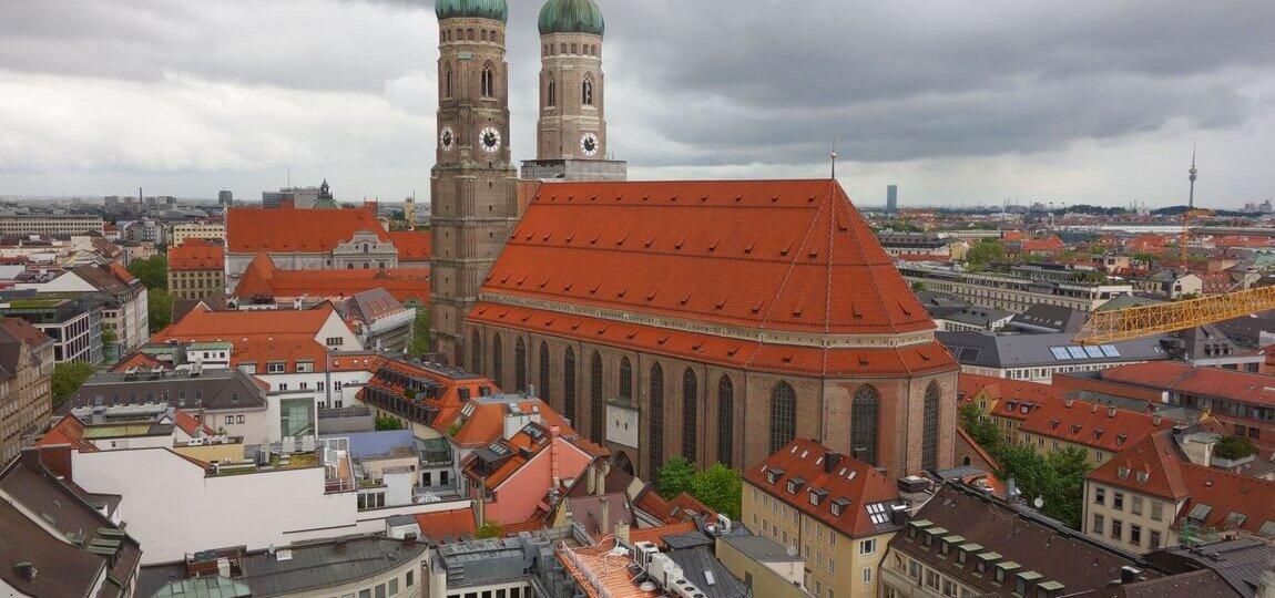 Frauenkirche собор Мюнхен