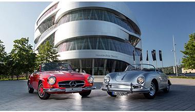Музей Mercedes Benz