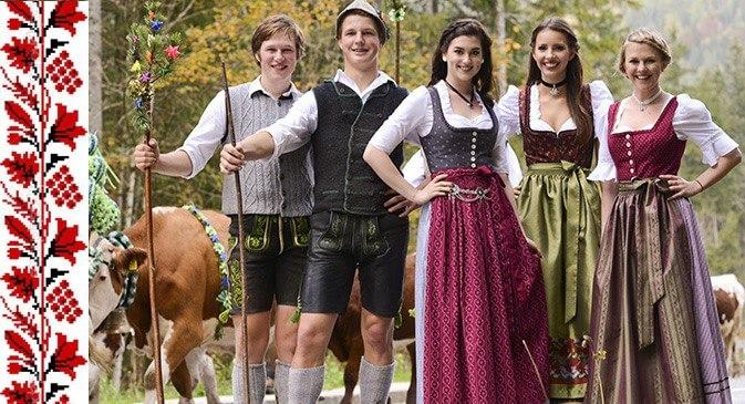 національний німецький одяг