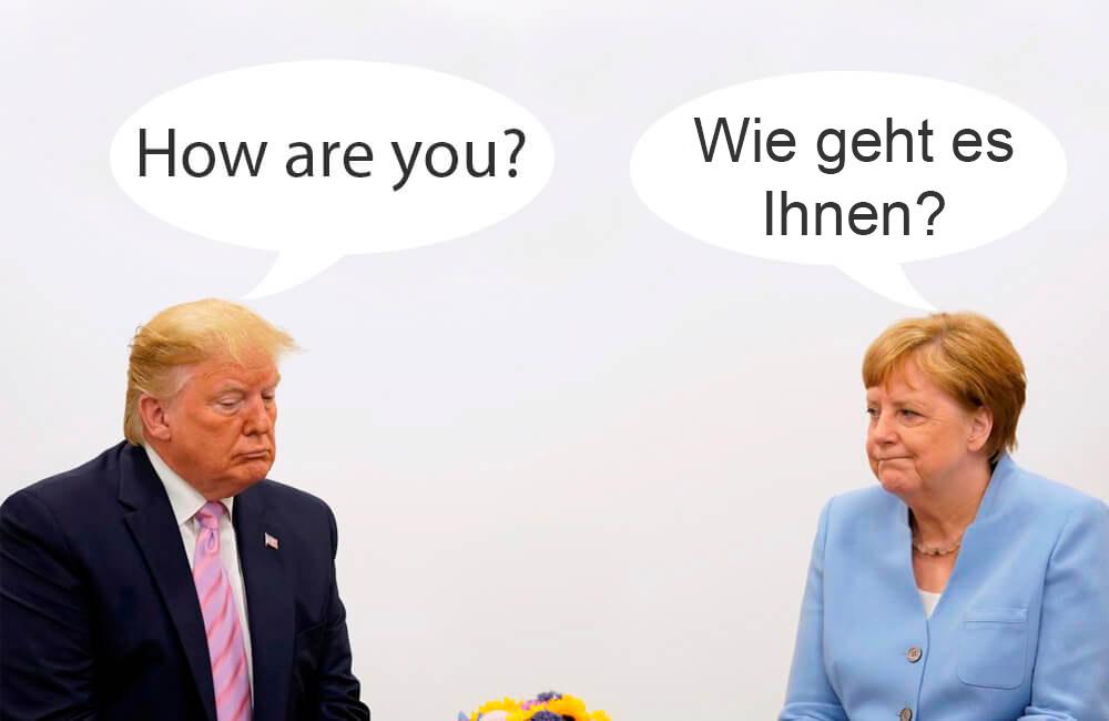 Привітання на німецькій